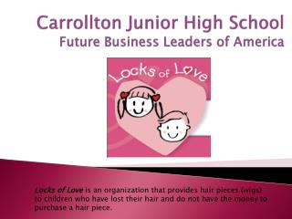 Carrollton Junior High School Future Business Leaders of America