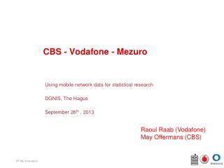 CBS - Vodafone -  Mezuro