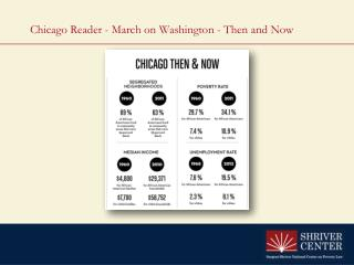 Chicago  Reader -  March on  Washington - Then and Now
