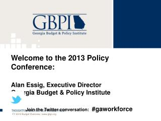 FY 2012 Budget Overview | www.gbpi.org