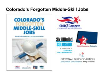 Colorado's Forgotten Middle-Skill Jobs