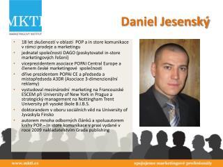 Daniel Jesenský