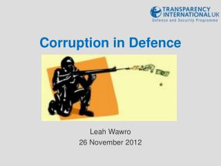 Corruption in Defence
