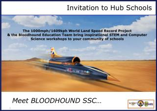 Invitation to Hub Schools