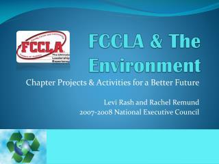 FCCLA & The Environment