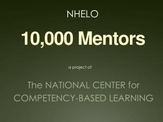 10,000 Mentors