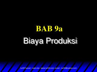 BAB 9a