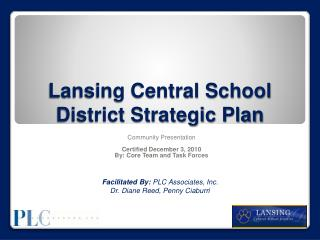 Lansing Central School District Strategic Plan