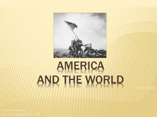 America  and the  WOrld