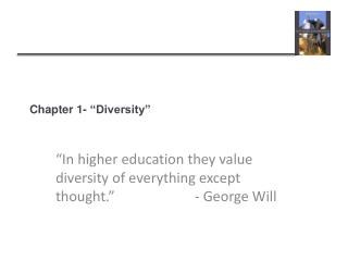 Chapter 1- �Diversity�