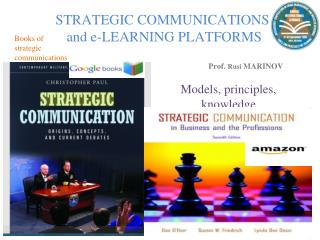 STRATEGIC COMMUNICATIONS   and e-LEARNING PLATFORMS