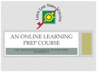 An Online Learning Prep Course