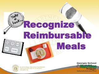 Recognize Reimbursable            Meals