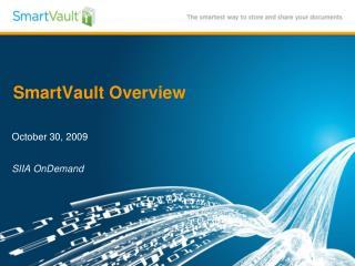 SmartVault Overview