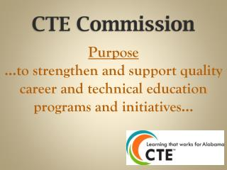 CTE Commission