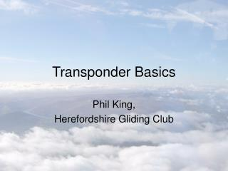 transponder basics