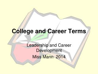 College and Career  Terms