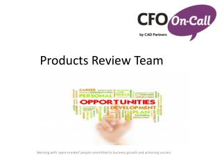Products Review Team