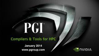 Compilers & Tools for HPC