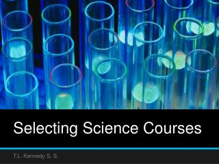 Selecting Science Courses