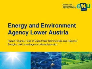 Energy and Environment Agency Lower Austria