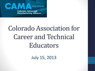 Colorado Association for Career and Technical Educators