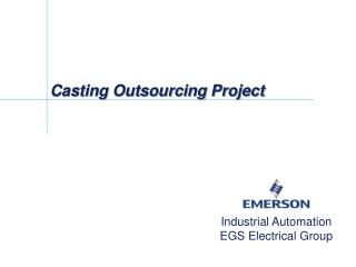 Casting Outsourcing Project