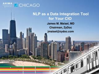 NLP as a Data Integration Tool  for  Your CIO