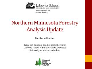 Northern Minnesota Forestry Analysis Update