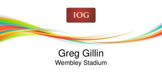 Greg  Gillin Wembley  Stadium