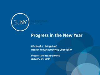 Progress in the New Year