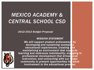 Mexico Academy & Central School CSD