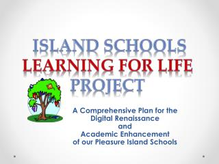 A Comprehensive Plan for the Digital Renaissance and  Academic Enhancement  of our Pleasure Island Schools