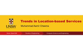 Trends in Location-based Services