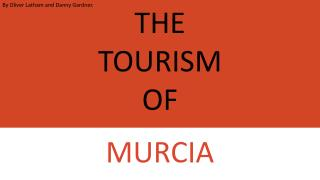 THE  TOURISM  OF