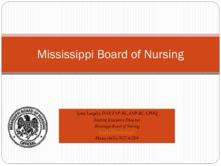 Mississippi Board of Nursing