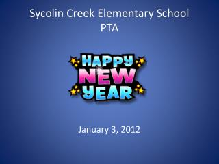 Sycolin Creek Elementary School PTA