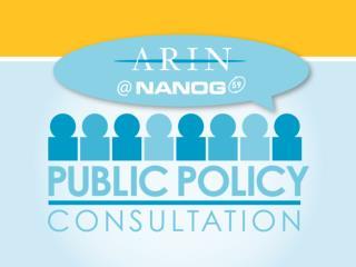 Public Policy Consultation