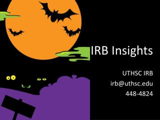 IRB Insights