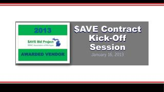 $AVE Contract Kick-Off Session