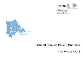 General Practice Patient Priorities 13th  February 2013