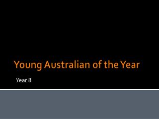 Young Australian of the Year