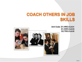COACH OTHERS IN JOB SKILLS