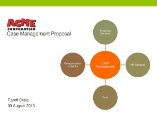 Acme Corp  Case Management  Proposal