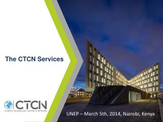 The CTCN Services