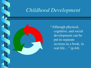 childhood development
