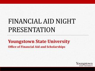 Financial Aid Night Presentation