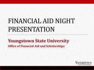 Financial Aid Night Presentation