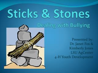 Sticks & Stones Dealing with Bullying