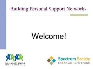 Building Personal Support Networks